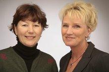 Evelyne Bruschwitz und Anja Heßke