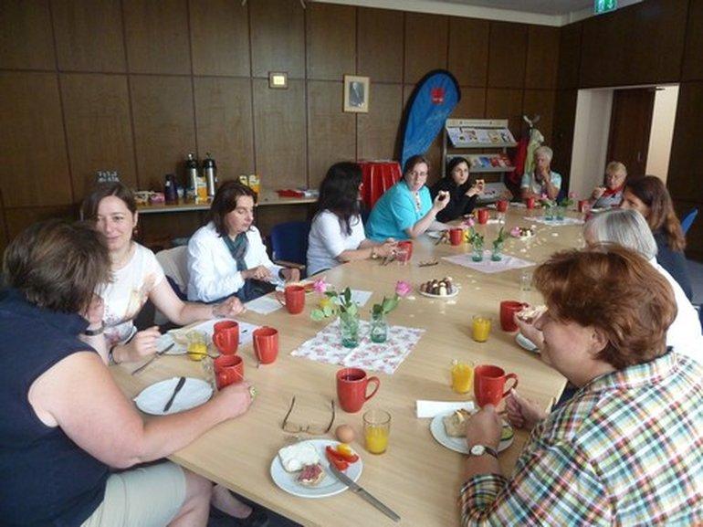 Kieler Woche Frühstück für ver.di-Frauen