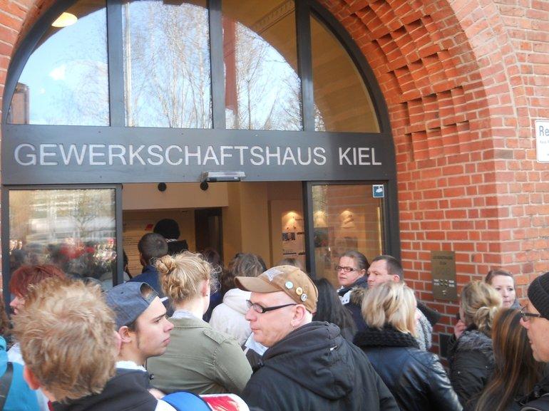 Ver.di-Streiktag im Öffentlichen Dienst in Kiel