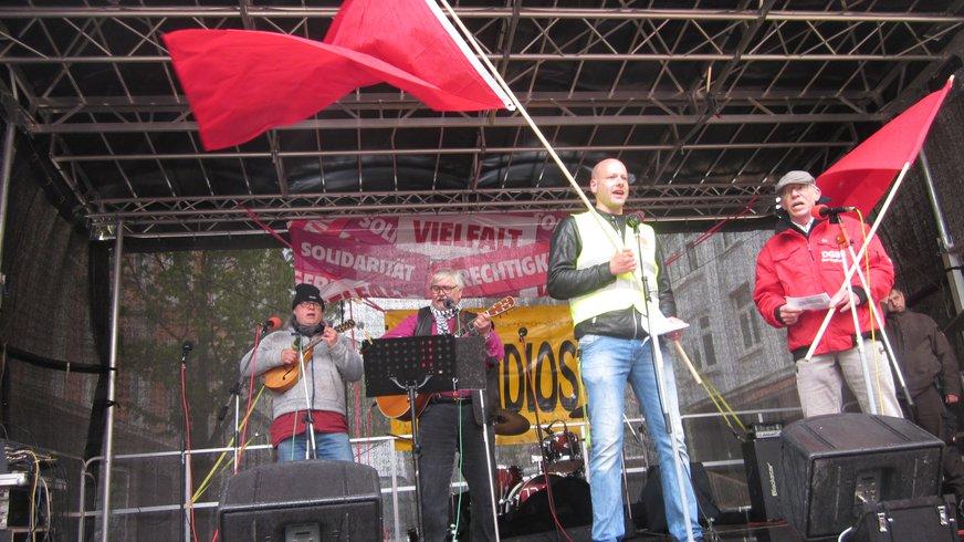 1. Mai in Kiel