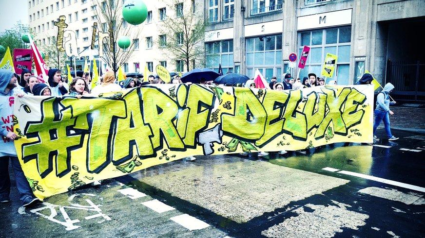Gewerschaftsarbeit in Kiel